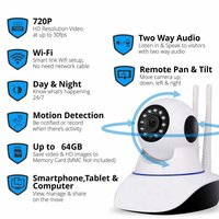 IP01A WiFi Wireless HD IP Security Camera