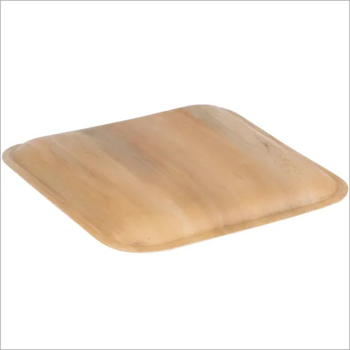 Biodegradable Areca Square Plate