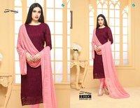 Pure Chiffon Salwar Suits