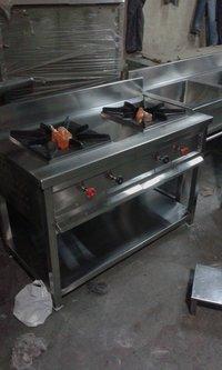 Double Burner Gas Range