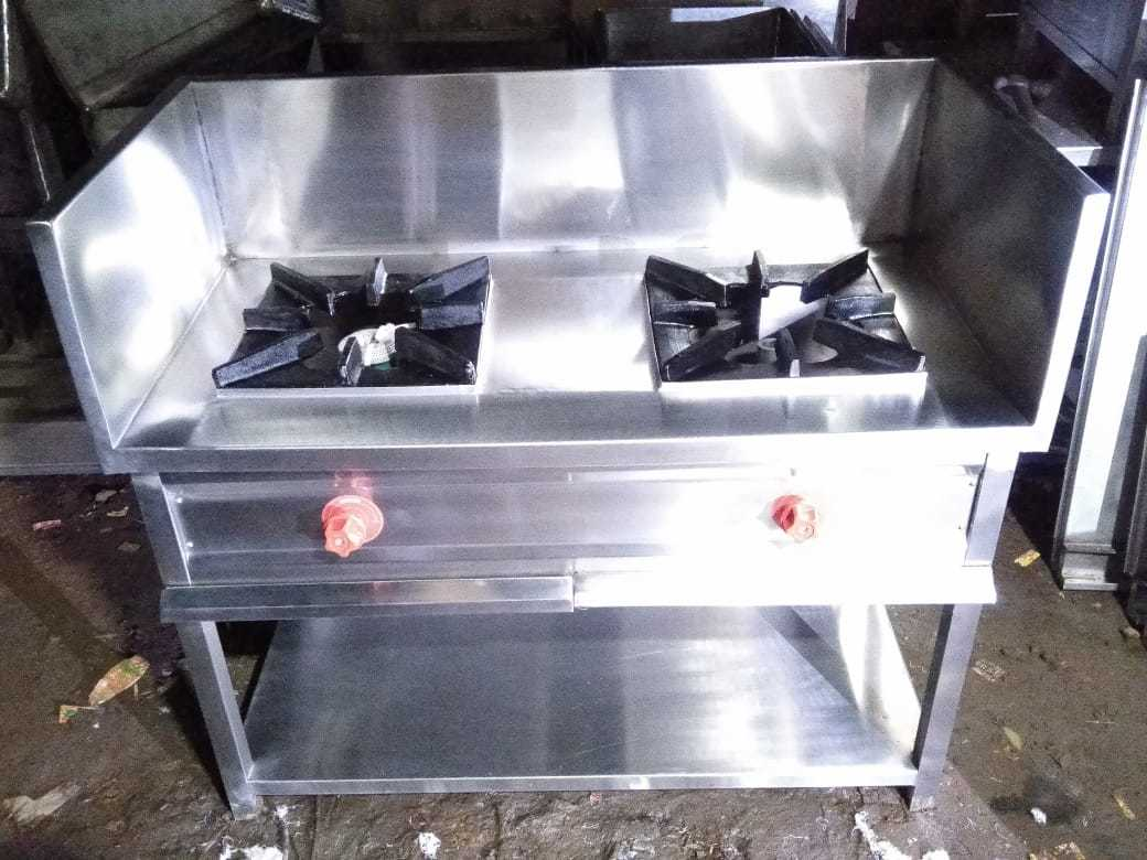 Double Burner Gas Range