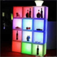LED Wine Display Cabinet