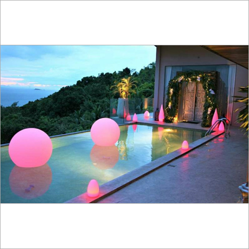 LED Glow Swimming Pool Ball