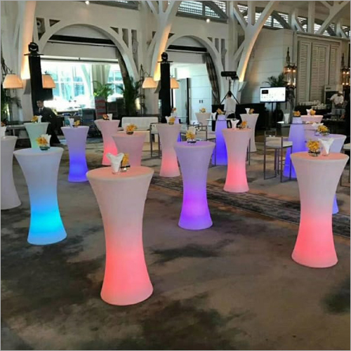 LED Glowing Bar Standing Table