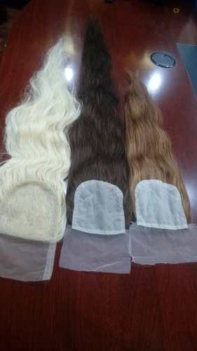 HUMAN HAIR WIG LACE CLOSURE HAIR