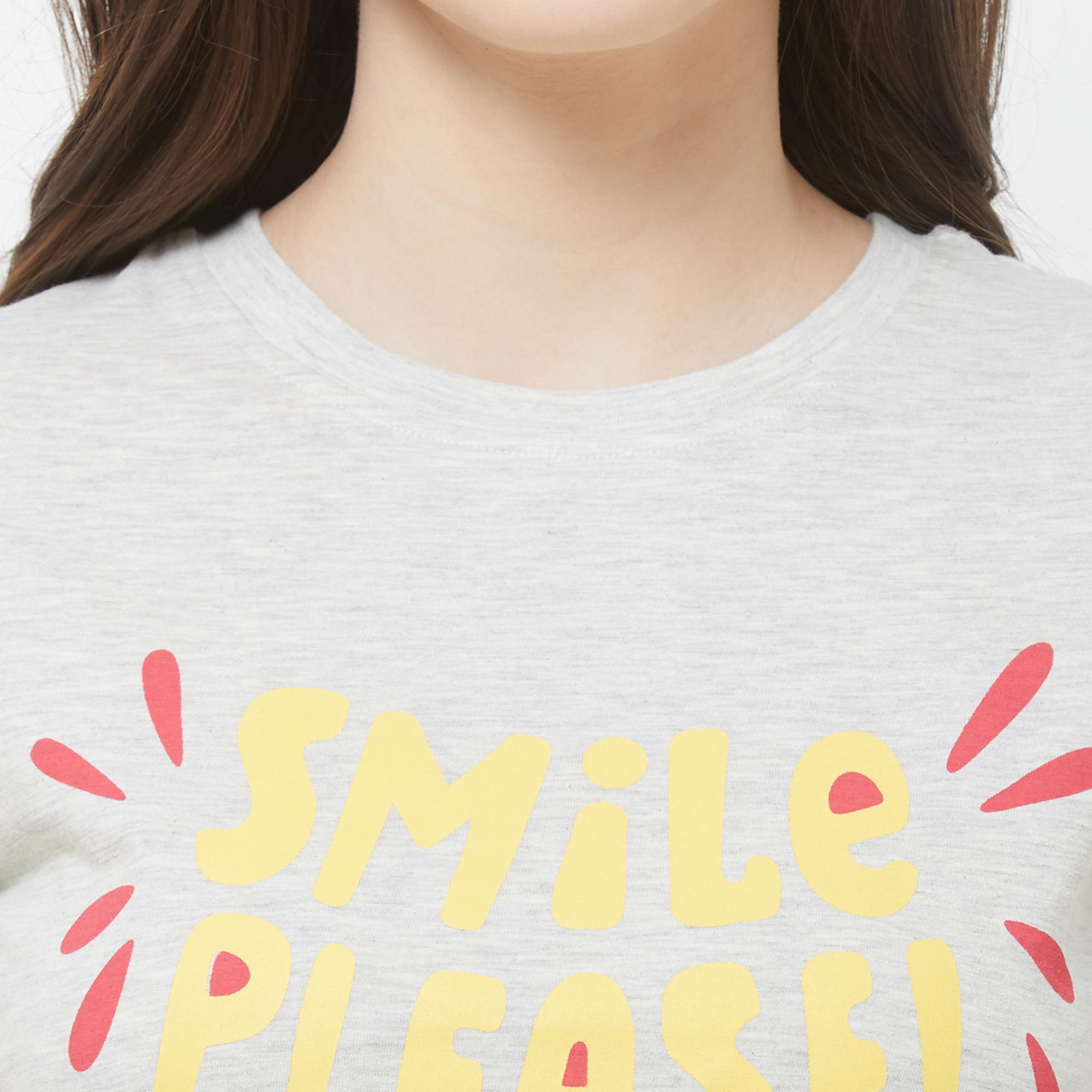 Evolove Womens Printed Pajama T Shirt Sets (EVO27)