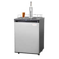 Nitro Coffee Kegerator with Single Stout Faucet