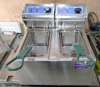 Double Basket Electric Deep Fryer