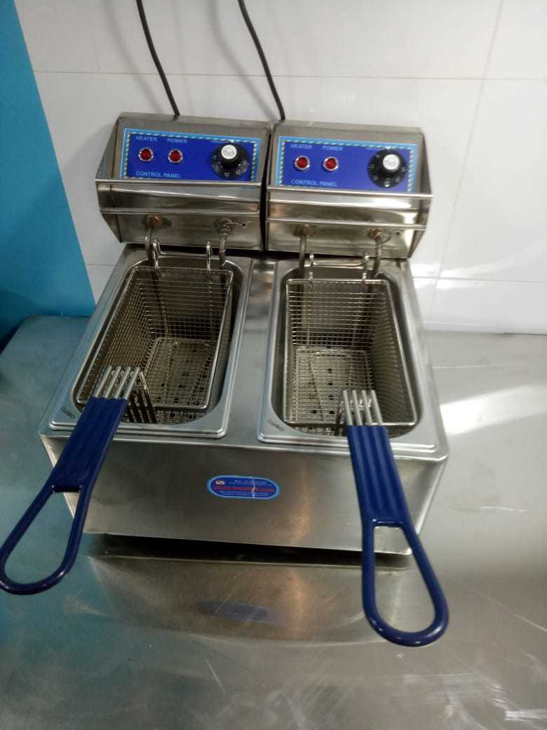 Double Basket Electric Deep Fryer