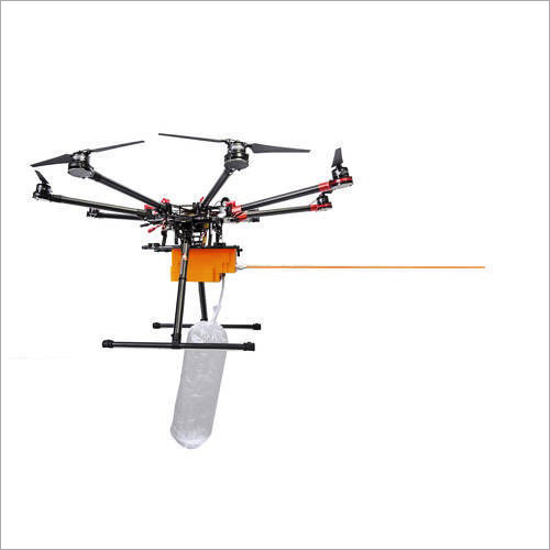 Hexacopter Drone Flying Camera