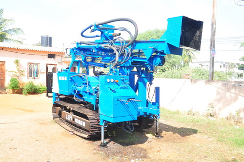 Indian Hot Selling New Rotary Crawler Blasting Hole Drilling Rig