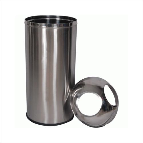 Two Hole Stainless Steel Bin