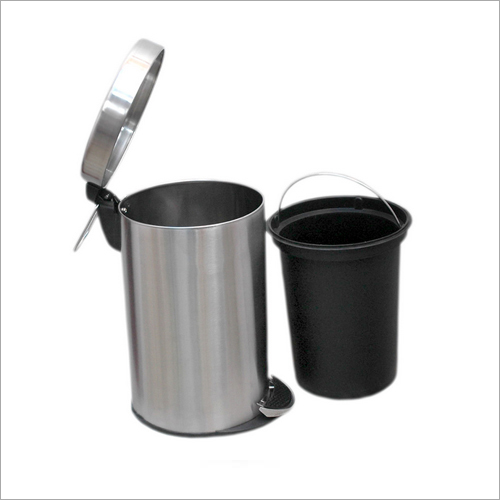 Stainless Steel Plain Pedal Bin