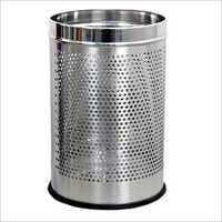 Stainless Steel Office Perforated Bin