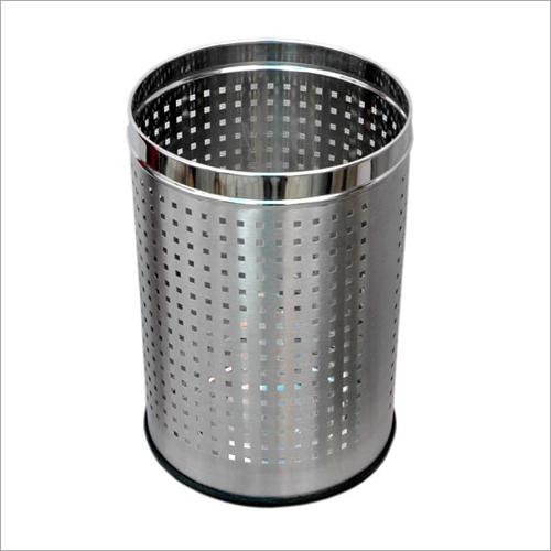 Stainless Steel Home Perforated Dustbin