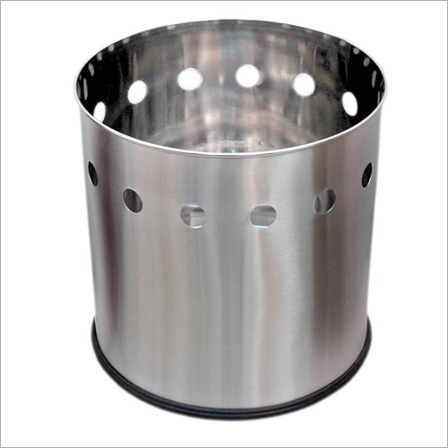 Stainless Steel Round Planter