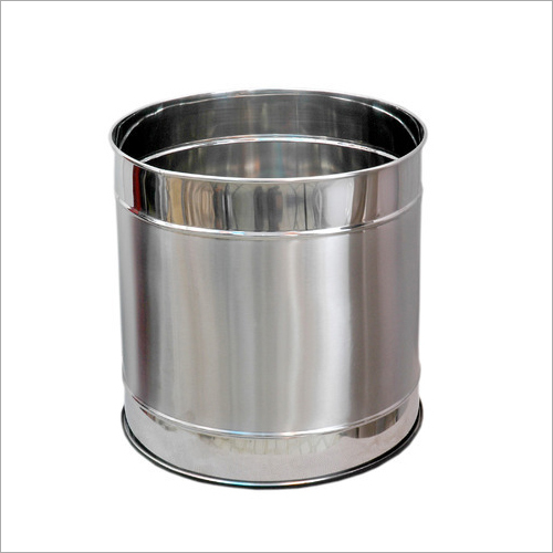 Stainless Steel Office Planter