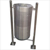 Stainless Steel Floor Mounted Bin