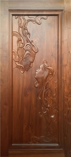CNC Carved Wooden Doors