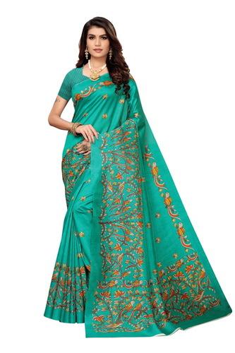 Zoya Silk Saree With Blouse Piece