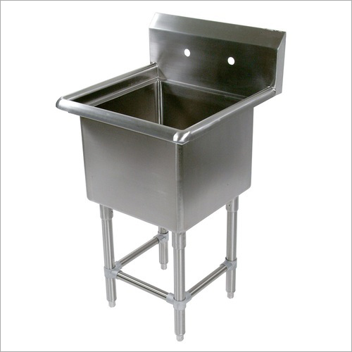 Stainless Steel Single Sink Unit
