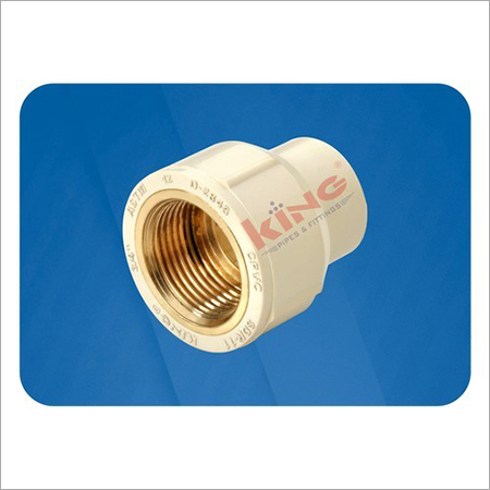 CPVC Red Brass Female Thread Adapter