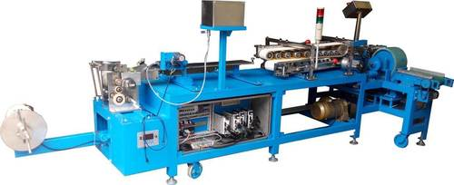 spiral paper stick making machine for lollipop