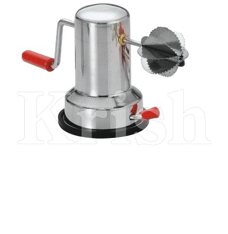 Coconut Scraper with Vacuum Base