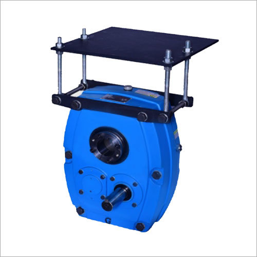 Shaft Mounted Speed Reducer (With Motor Mounting Frame)