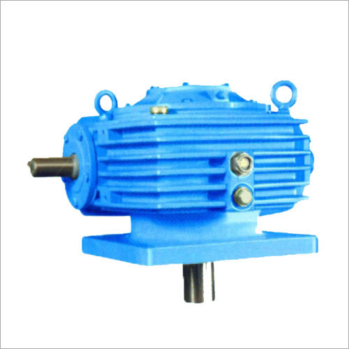 Worm Gear Reducer (Vertical Downward)