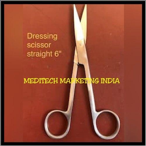 Dressing Scissors Straight
