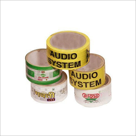 Single Sided Adhesive Printed Tape
