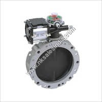 Butterfly Valve And Actuator