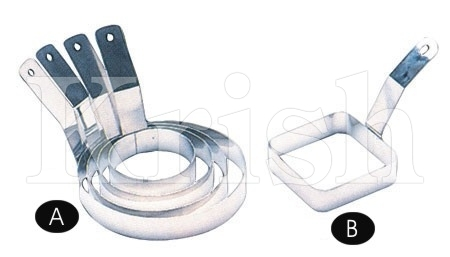 Egg Ring With Fixed Handle