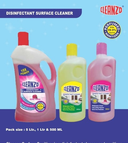 500 ml Lemon Fragrance Disinfectant Surface Cleaner