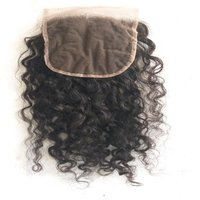 Raw Natural Curly Lace transparent Closure