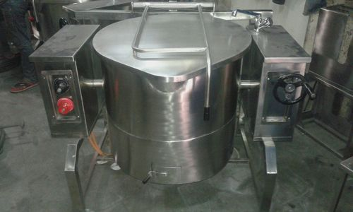 Gas Tilting Boiling Pan