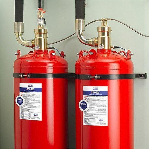 Argon Fire Suppression System