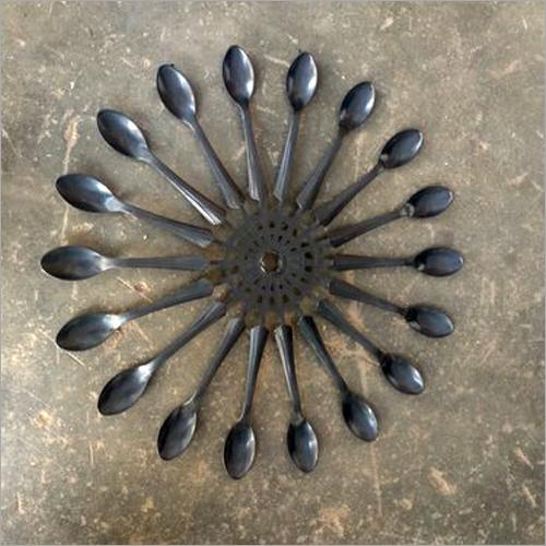 Plastic Black Spoon