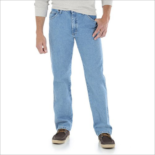 Mens Comfort Fit Denim Jeans