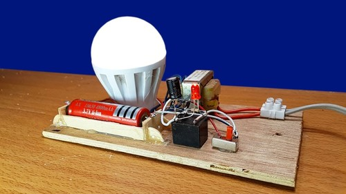 Automatic night light working model labcare