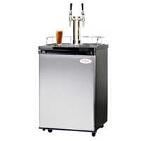 Nitro Coffee Kegerator with Double Stout Faucet