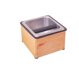 Wooden Counter Top Knock Box