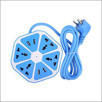 Blue Round Power Strip