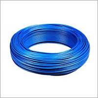 Blue PVC Industrial Wire