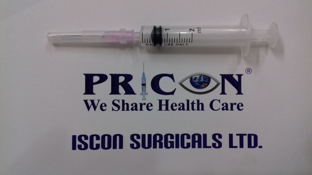 Disposable Syringes 2 ml With Needle