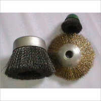Twist Knoted Wheel And Cup Brushes