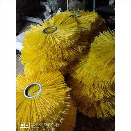 High Tissue Density Cylindrical Brush Rollers