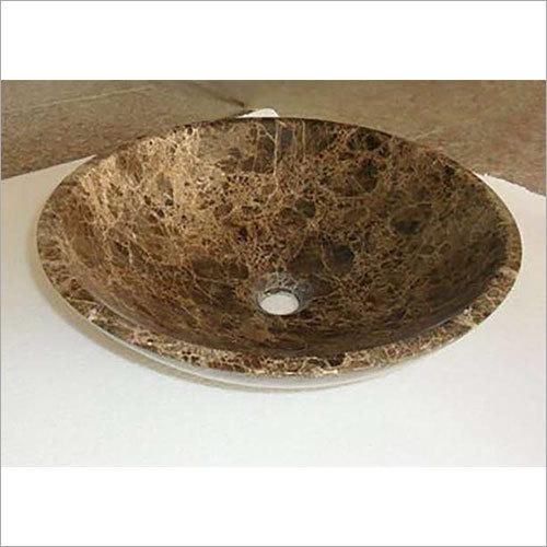 430 x 430 x 135 mm Natural Stone Bathroom Wash Basin