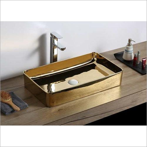600 x 345 x 105 mm Ceramic Art Wash Basin